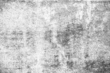 Black and white grunge urban texture with copy space. Abstract surface dust and rough dirty wall background or wallpaper with empty template for all design. Distress or dirt and damage effect concept