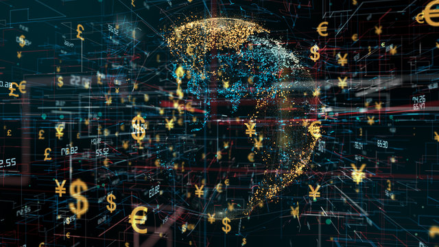 International global investment in foreign currency financial money markets