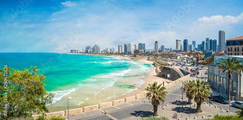 Wall mural Panoramic view of  Tel Aviv, Israel
