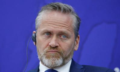 Danish Foreign Minister Samuelsen attends the International Arctic Forum in Saint Petersburg