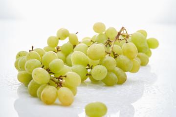 Weintrauben grün Obst