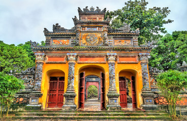 Ancient gate at the Imperial City in Hue, Vietnam Fototapete