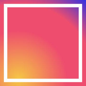 social media pinky background white frame vectror
