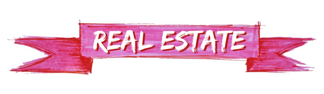 real estate ribbon