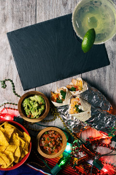 Fiesta: Add Your Text To Blank Slate For Cinco De Mayo Party