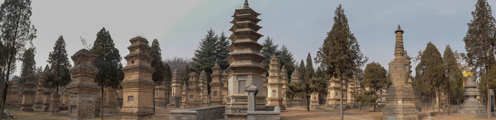 Talin Pagodas, It's memorial of the high priest of Shaolin temple.