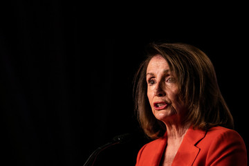 House Speaker Nancy Pelosi (D-CA) addresses the North America's Building Trades Unions (NABTU) 2019 legislative conference in Washington