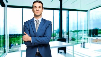 Portrait of a handsome businessman