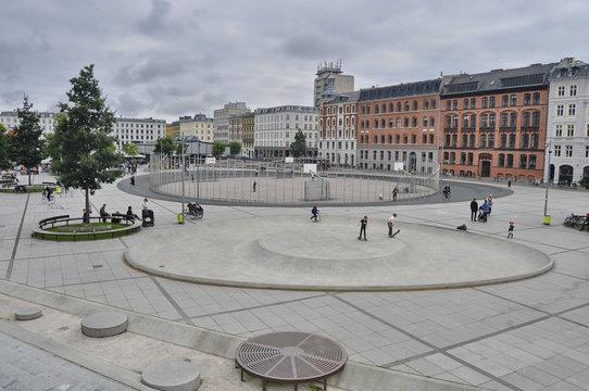 Square in Copenhagen, Denmark