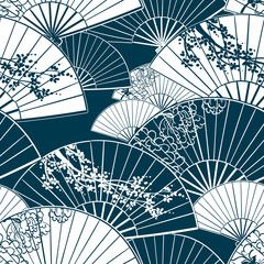 japanese traditional vector illustration fun pattern peony sakura