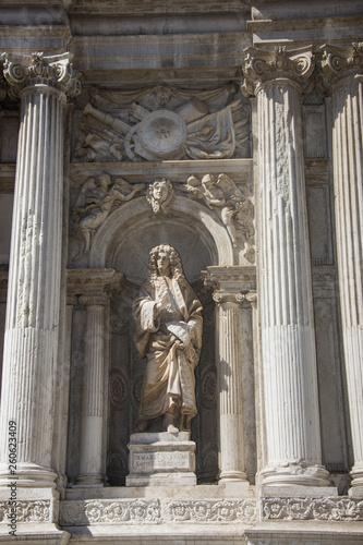 facade of Santa Maria del Giglio church (Santa Maria