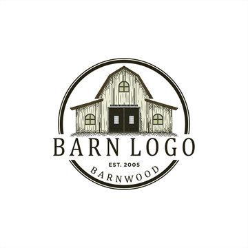 logo design for barn wood