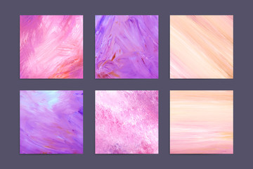 Pink acrylic paint