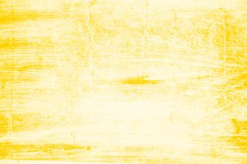 Fototapeta yellow white paint brush strokes background
