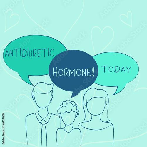 Word writing text Antidiuretic Hormone  Business photo