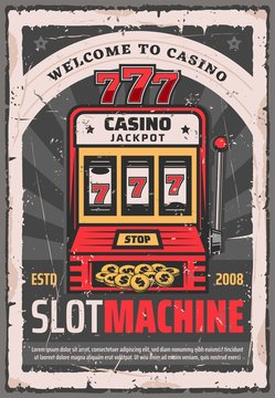 Casino poker one-armed bandit slot machine