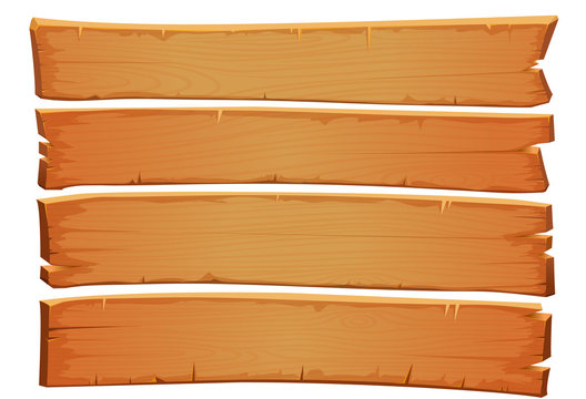 Vector wooden mahogany texture. Old planks of shabby wood.