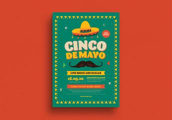 Cinco De Mayo Event Flyer Layout