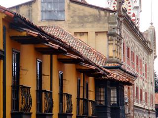 Koloniale Altstadt in Bogota, Kolumbien