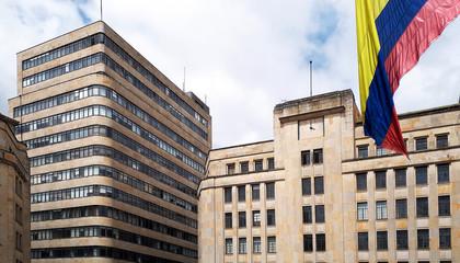 Regierungsgebäude in Bogota, Kolumbien