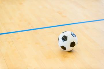 Futsal Background. Indoor Soccer Futsal Ball. Team sport