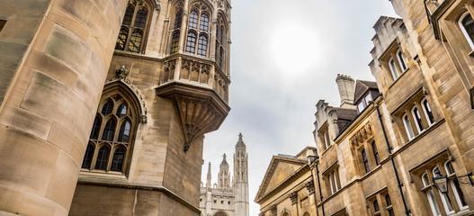 view of Trinity Lane in Cambridge- street view Fototapete