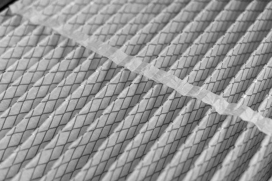 House air filter close-up