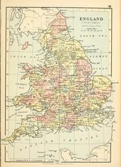 Fototapete - Old map. Engraving image