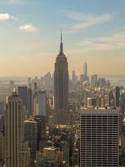 Photo sur Aluminium New York New York City skyline