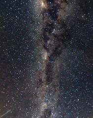The Milky Way in the Dark of the Night