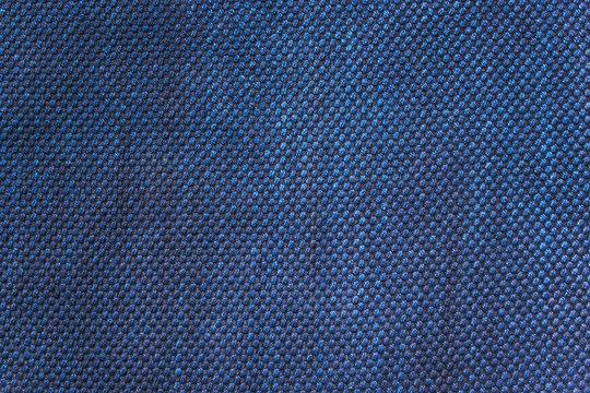 藍染の木綿 布地テクスチャ