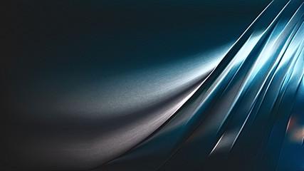 Black and Blue Metallic Background