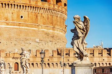Castle of Saint Angel in Rome