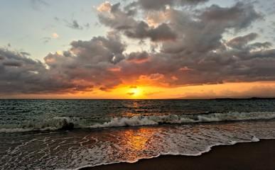 Wall Mural - Ocean Sunset