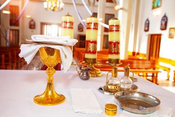 chalice in church