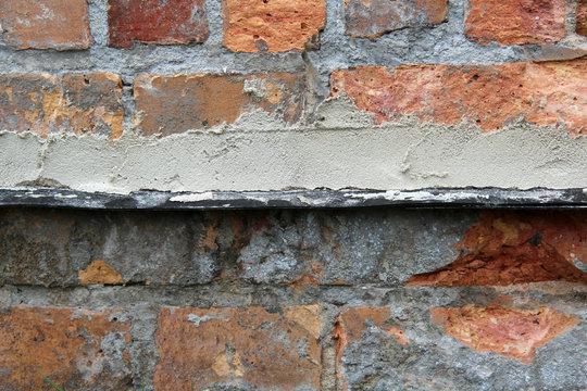 Horizontalabdichtung im Mauerwerk