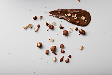 nutella and nuts