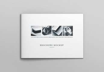 Landscape Catalog Cover Mockup