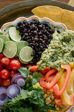 Mexican Themed Party platter