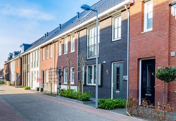 Modern Dutch housesn