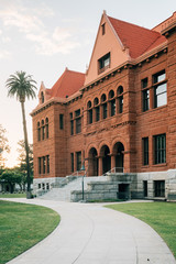 The Old Orange County Courthouse, in downtown Santa Ana, California