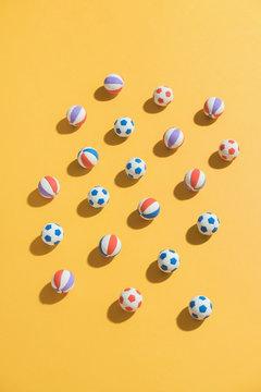Play balls.