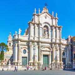 Wall Mural - Saint Agatha Cathedral of Catania