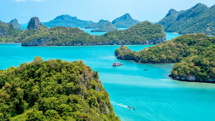 Landscape image of Mu Koh Angthong, Samui Island, Surat Thani, Thailand