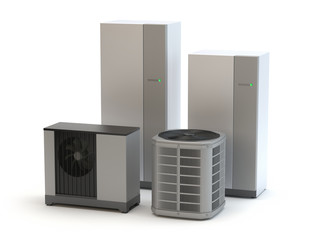 Air heat pumps system