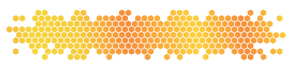 Fototapeta Honeycomb / hexagons obraz