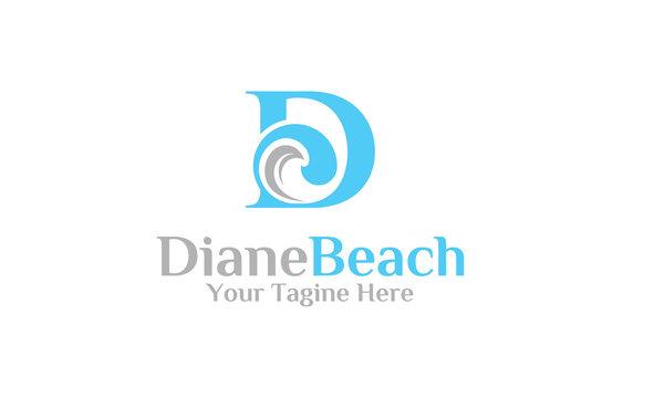 Diane Beach Logo