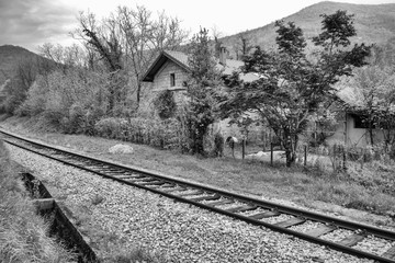 Old train station