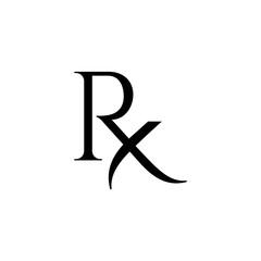 Rx pharmacy icon
