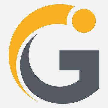 golf, initial, g, letter g logo